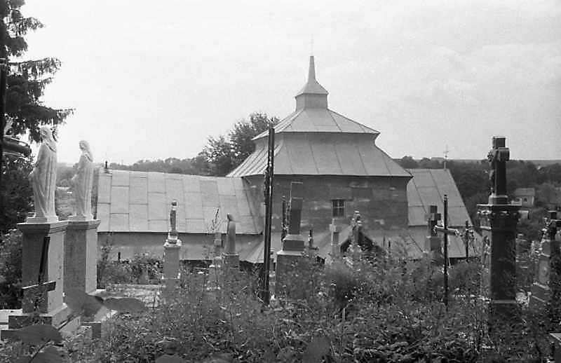 1988 р. Стара церква. Загальний вигляд з позиції С4