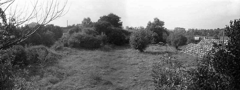 1988 р. Панорама двора з південного…