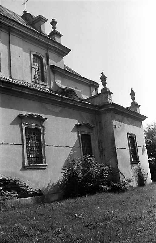 1989 р. Фрагмент південного фасаду. Вигляд з південного заходу