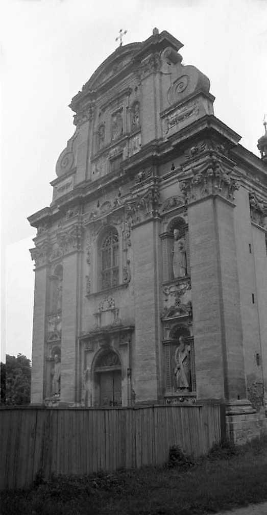 1989 р. Головний фасад. Вигляд з…