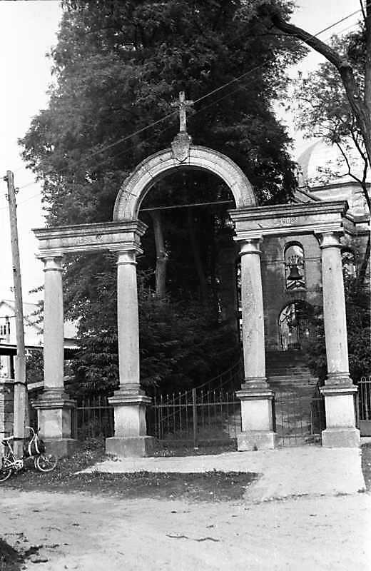 1989 р. Пам'ятна арка 60-літнього правління імператора Франца-Йосифа