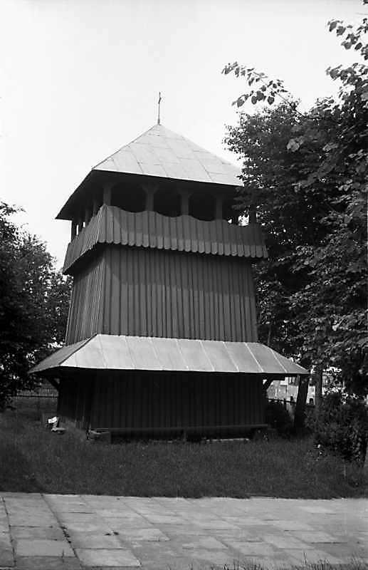 1989 р. Дзвіниця. Вигляд з позиції С4