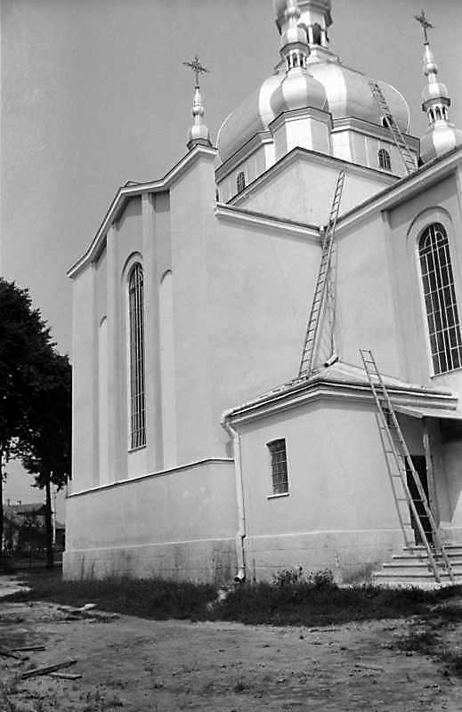 1989 р. Південний фасад. Вигляд з південного сходу