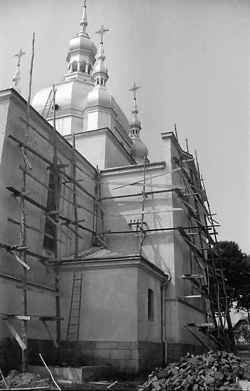 1989 р. Північний фасад. Вигляд з північного сходу