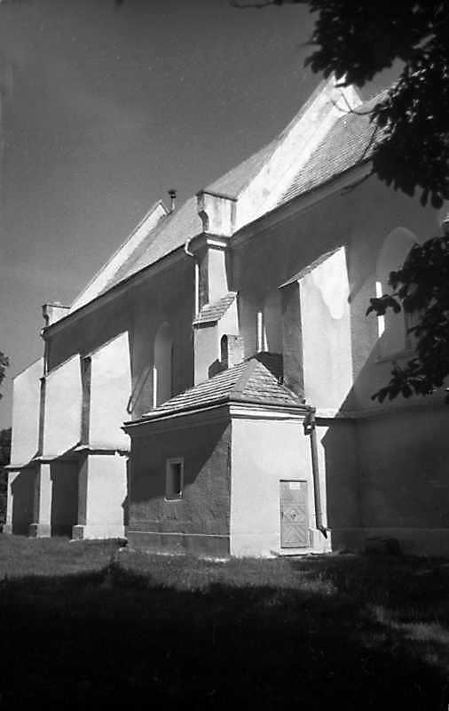 1989 р. Бічний фасад. Вигляд з позиції…