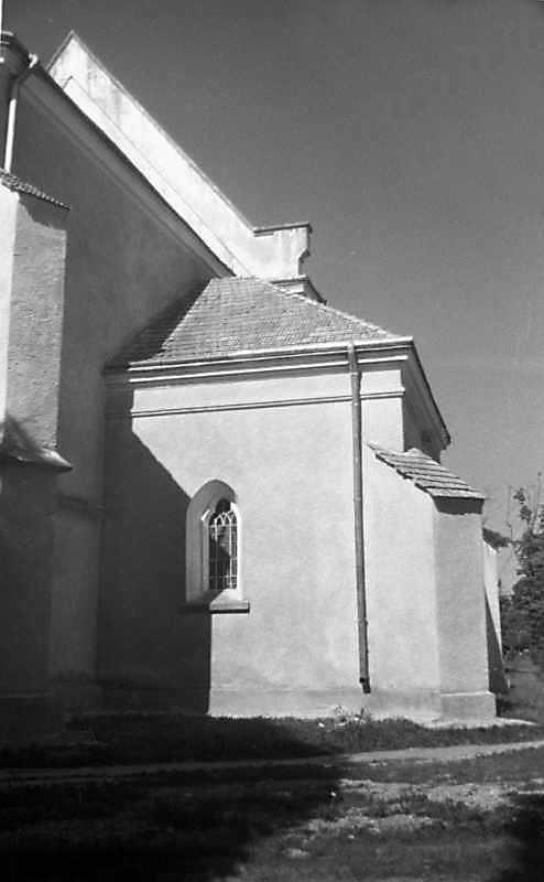 1989 р. Прибудова до вівтаря. Вигляд з…