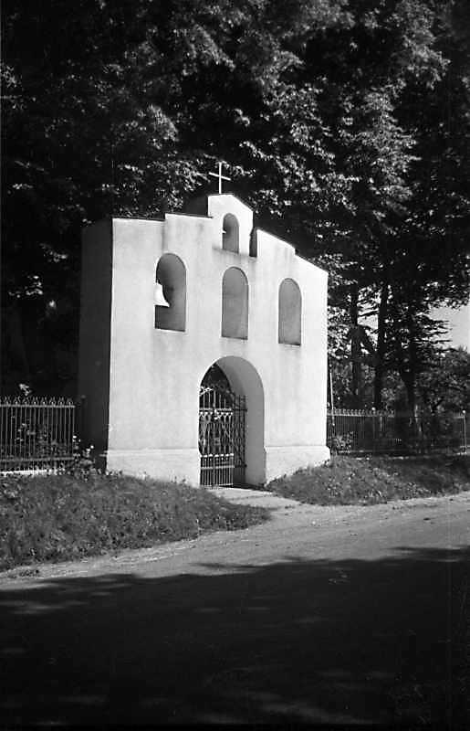 1989 р. Дзвіниця. Вигляд з північного заходу