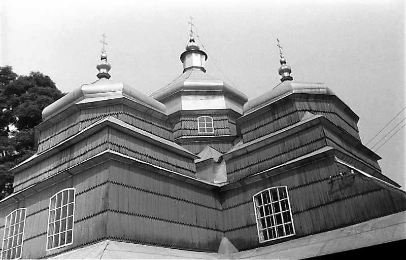 1989 р. Верхи. Вигляд з південного сходу