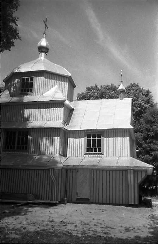 1989 р. Нава і вівтар. Вигляд з півдня