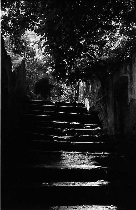 1989 р. Сходи, що ведуть до костелу
