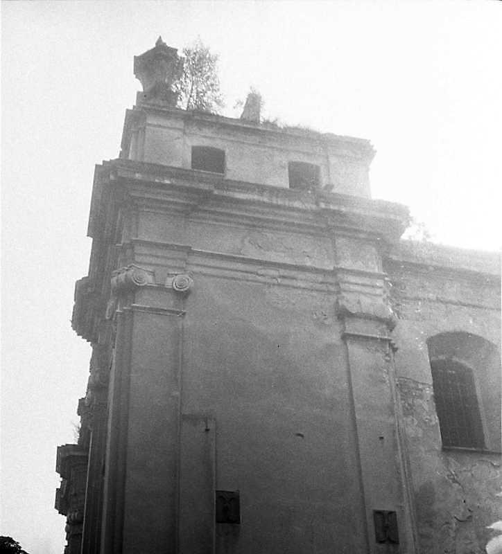 1989 р. Фрагмент північної башти..…