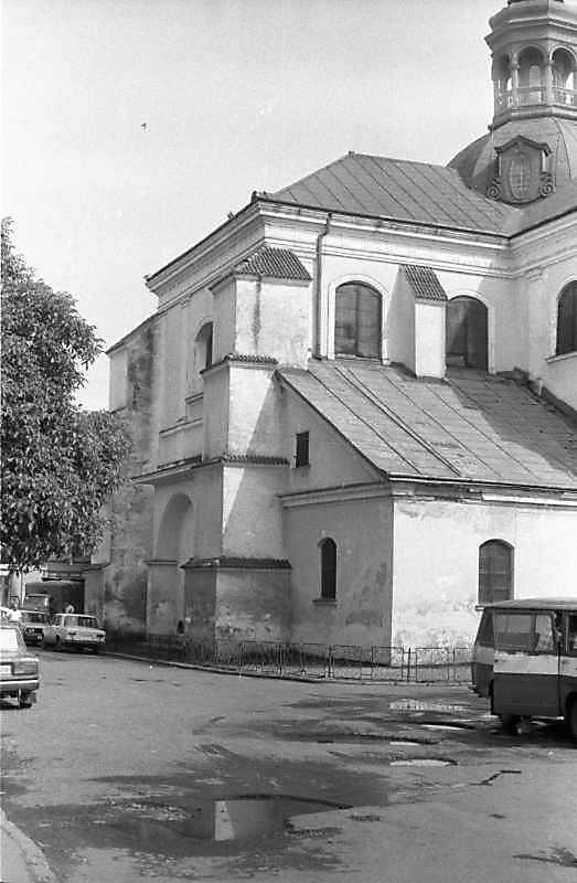 1989 р. Вівтар. Вигляд з північного заходу