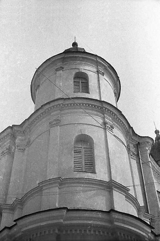 1989 р. Верхні яруси башти. Вигляд з…