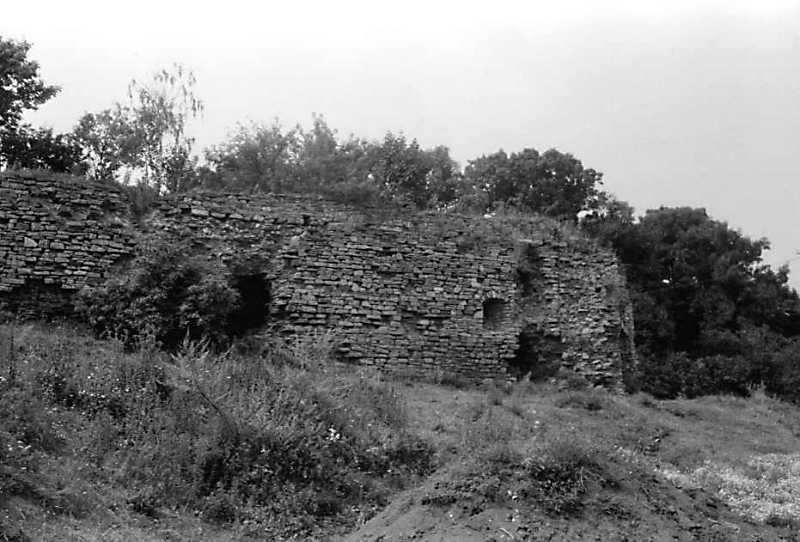 1989 р. Північна частина східного муру. Вигляд з південного сходу