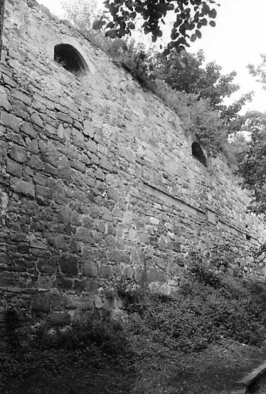 1989 р. Фрагмент південного муру.…