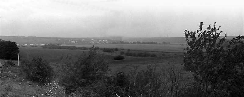 1989 р. Вид долини Серета між селами…