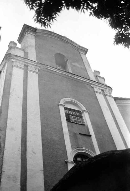 1989 р. Костел. Головний фасад. Вигляд…
