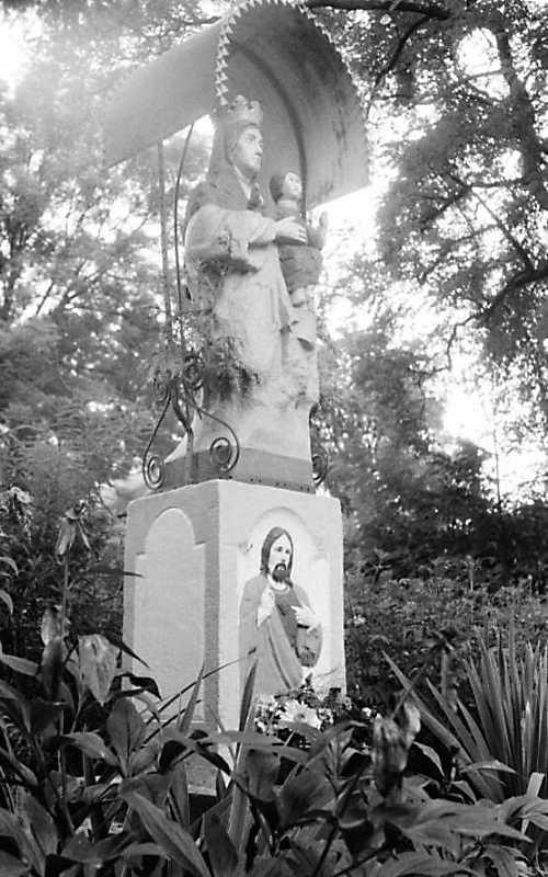 1989 р. Скульптура богородиці з немовлям