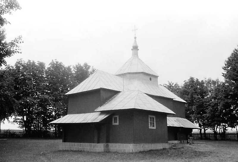 1989 р. Стара церква. Загальний вигляд…