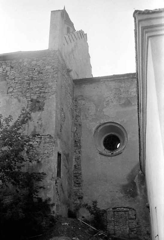 1989 р. Фрагмент південної стіни нави…