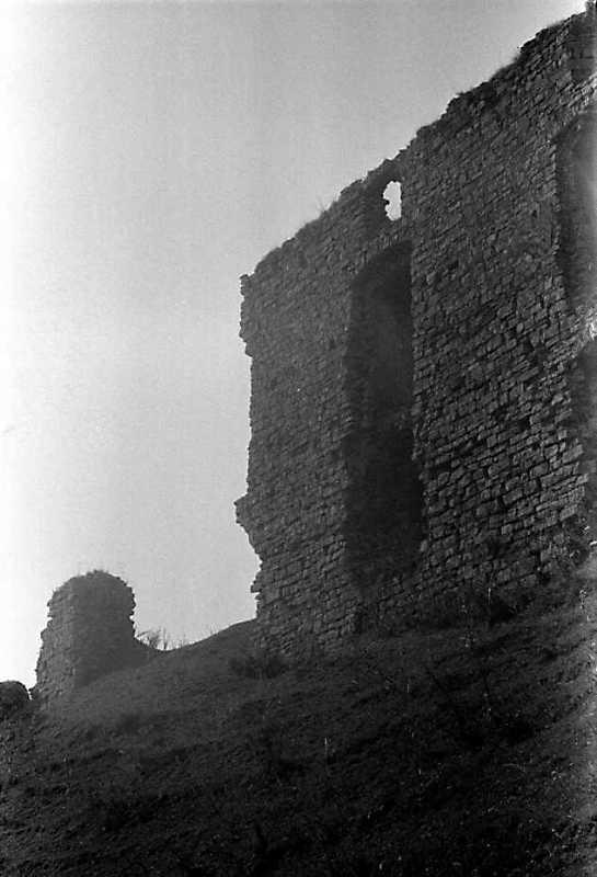 1989 р. Корпус 16 і мур 3. Вигляд з півночі
