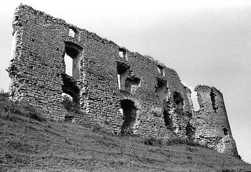 1989 р. Мур 3 і башта 2. Вигляд зі сходу