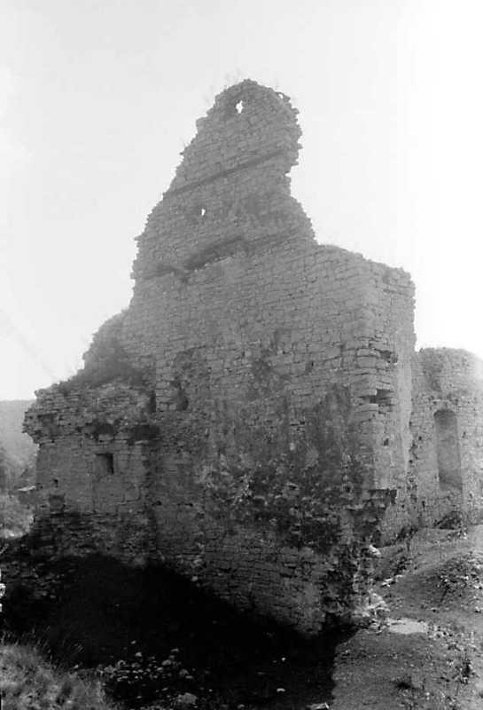1989 р. Торцева стіна. Вигляд з північного заходу