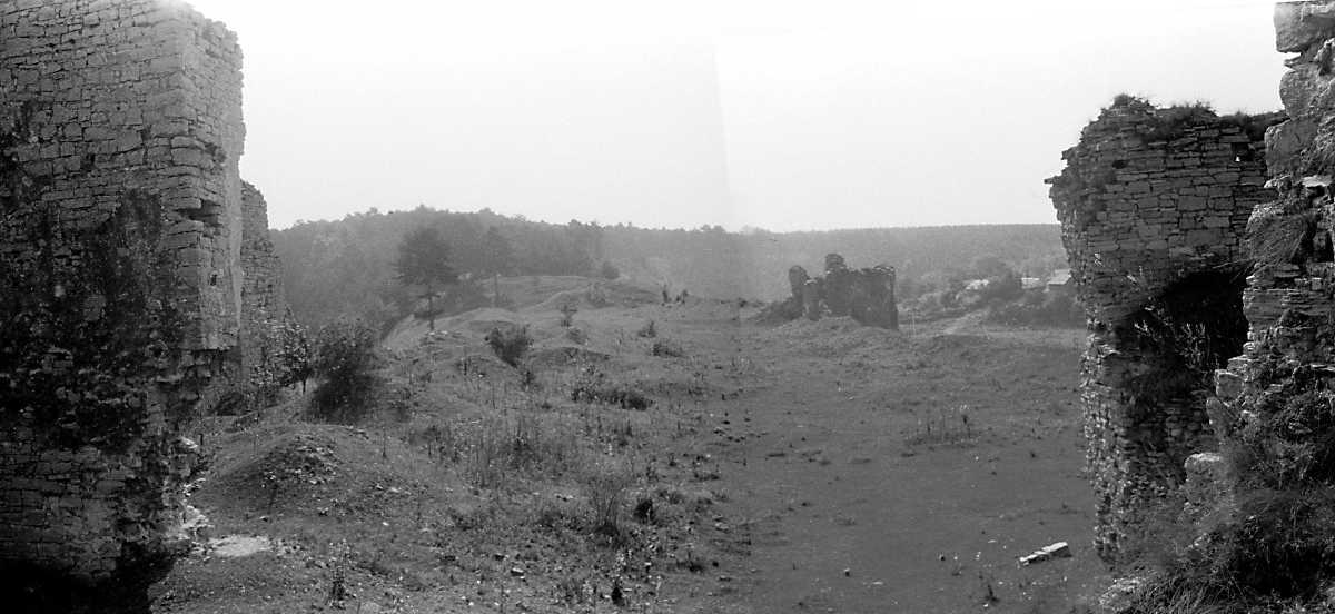 1989 р. Південно-східна частина замку.…