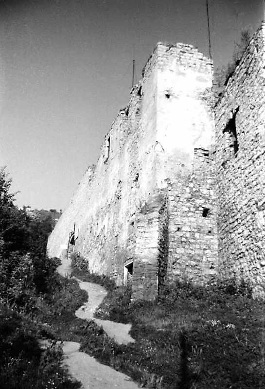1989 р. Північний мур. Вигляд із заходу