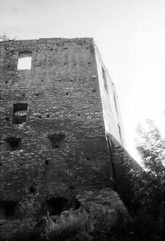 1989 р. Південна башта. Вигляд із заходу