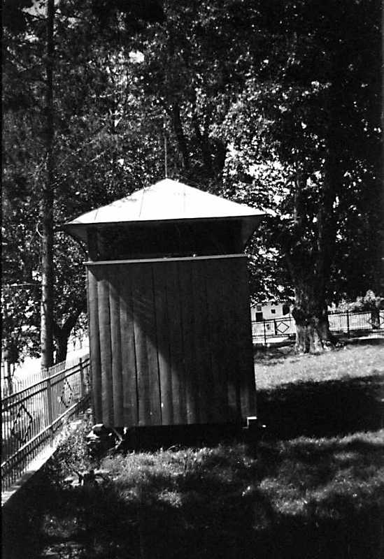 1989 р. Дзвіниця. Вигляд з півдня