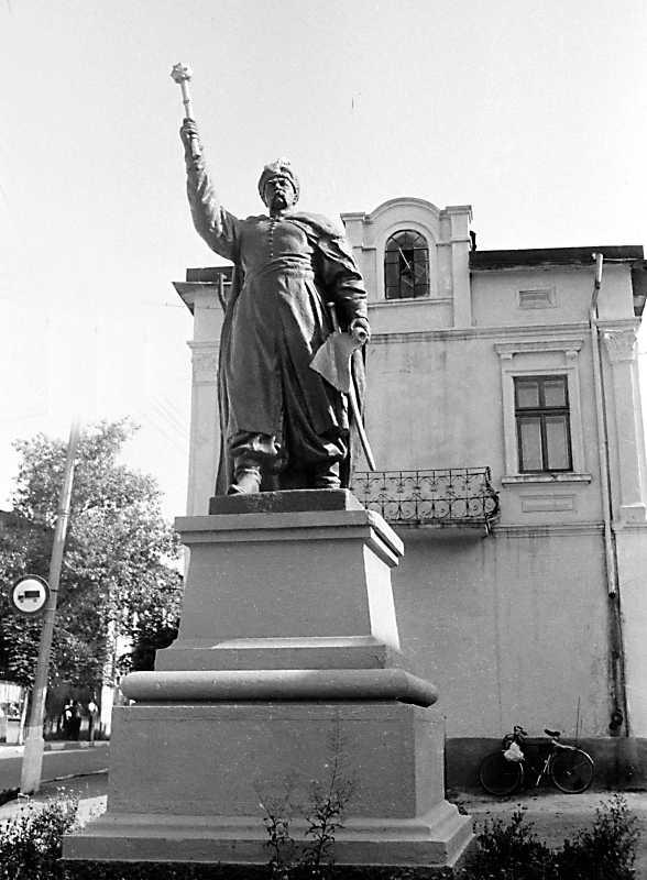 1989 р. Пам'ятник Богдану Хмельницькому