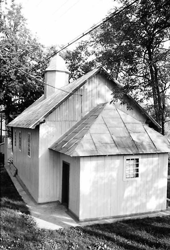 Коментар: Церква дерев'яна, дзвіниця на правому березі р.Циганки (в частині, що зветься Нижнє Кривче). Церква розташована на горбі на правому…