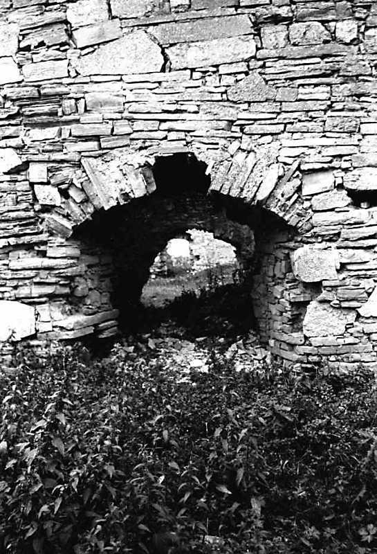 1989 р. Проріз муру 10. Вигляд зі сходу