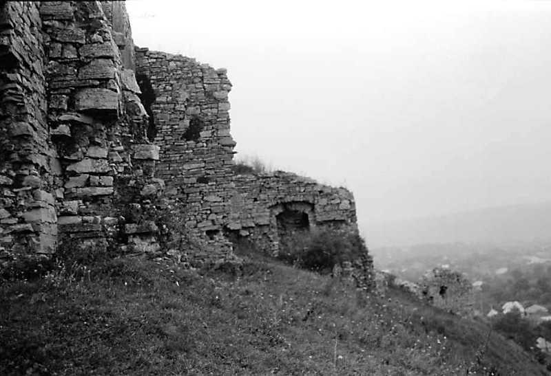 1989 р. Мури 4, 3, башта 1. Вигляд півночі