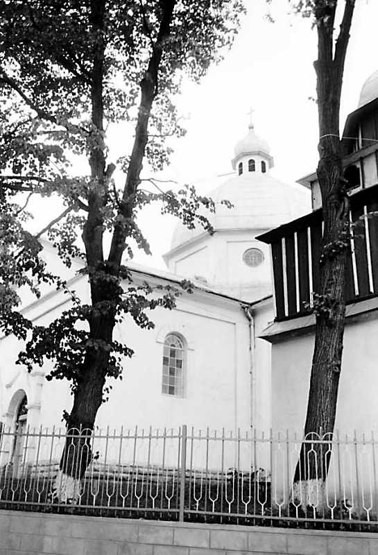 1989 р. Бабинець церкви і фрагмент…