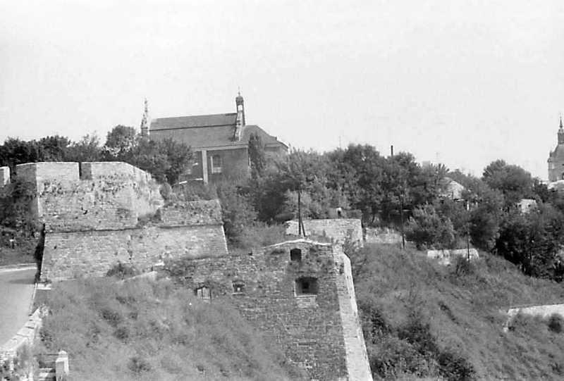 1989 р. Центральна частина Старого міста. Вигляд із заходу