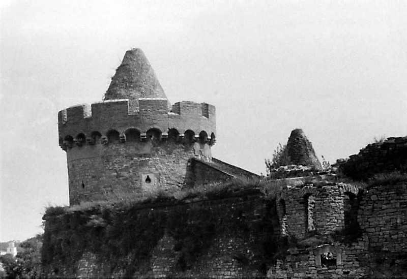 1989 р. Башти Рожанка та Маза Західна. Вигляд з південного заходу