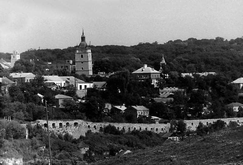 1989 р. Південна частина Старого міста. Вигляд із заходу