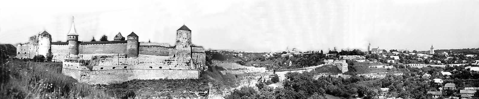 1989 р. Панорама Старого замку і Старого міста з півдня