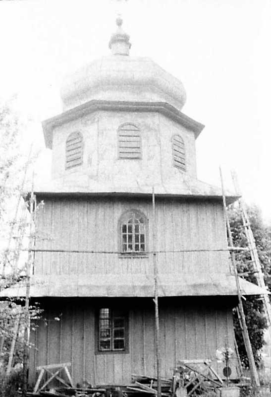 1990 р. Дзвіниця. Вигляд зі сходу