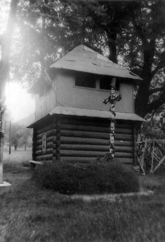 1990 р. Дзвіниця. Вигляд з позиції А1