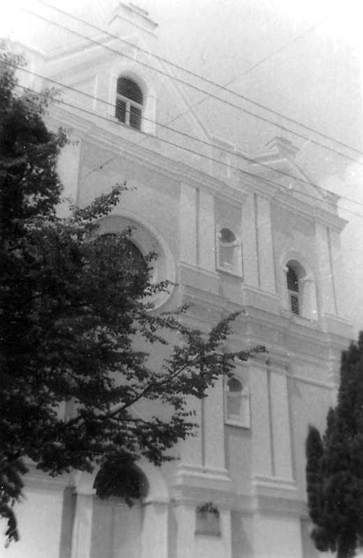 1990 р. Фрагмент головного фасаду.…