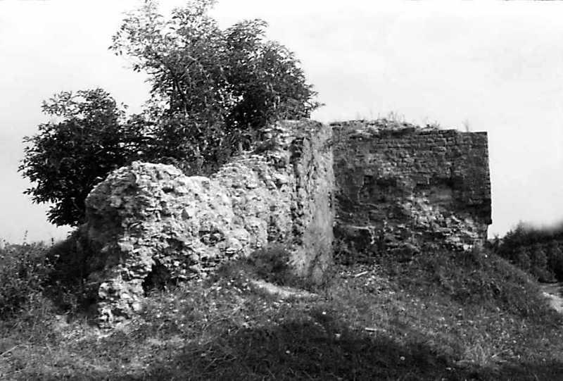 1990 р. Фрагменти чільного муру