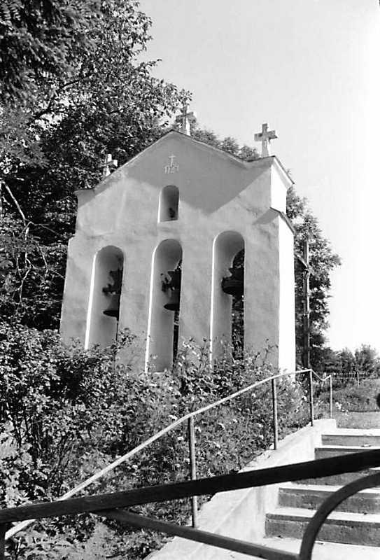 1990 р. Дзвіниця. Вигляд з позиції С2