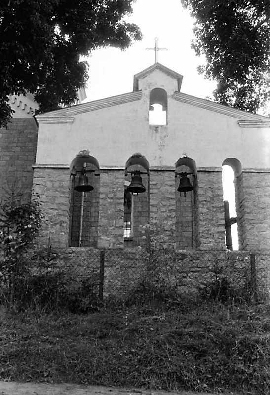 1990 р. Дзвіниця. Вигляд з півночі