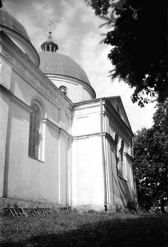 1990 р. Бічний фасад. Вигляд з позиції…