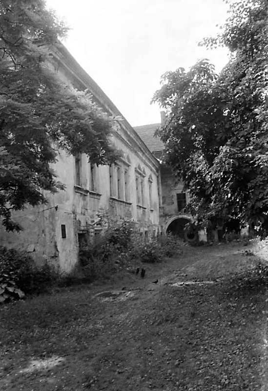 1990 р. Корпус 1. Фасад з боку двора в…