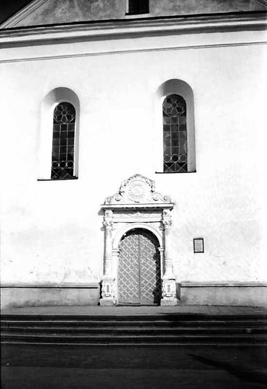 Фрагмент західного фасаду