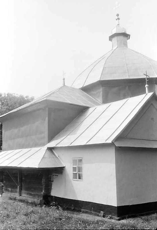 1990 р. Вівтар, прибудова і нава.…